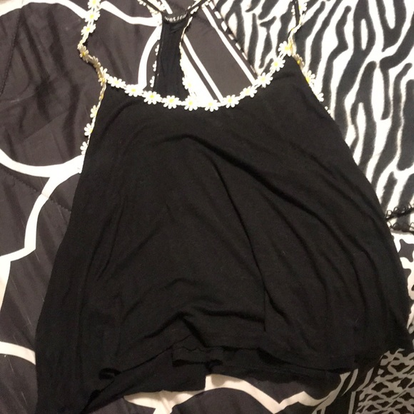 Wet Seal Other - I am selling a black shirt with sun flowers
